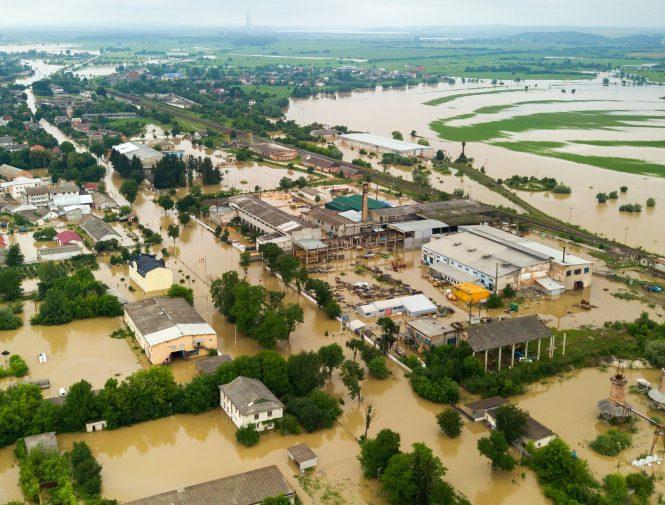 Flood in Virginia