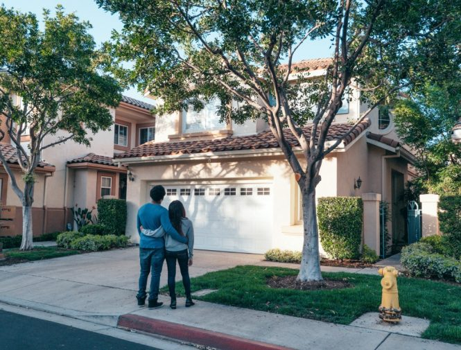 Home Renters looks happy their new home