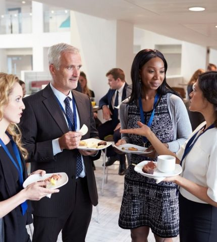 Choice Broker gather at special event